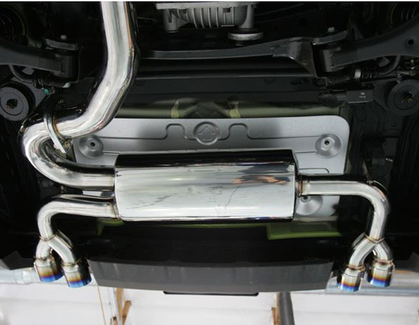 Agency Power AP-BK38-170T    Catback Exhaust w/Titanium Exhaust Tips Hyundai Genesis 3.8L V6; 2009-2012