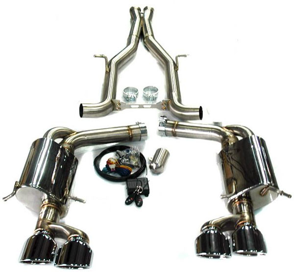 Agency Power AP-C63.2-170:  Electronic Valve Controlled Exhaust Muffler Mercedes-Benz C63 AMG 12-13