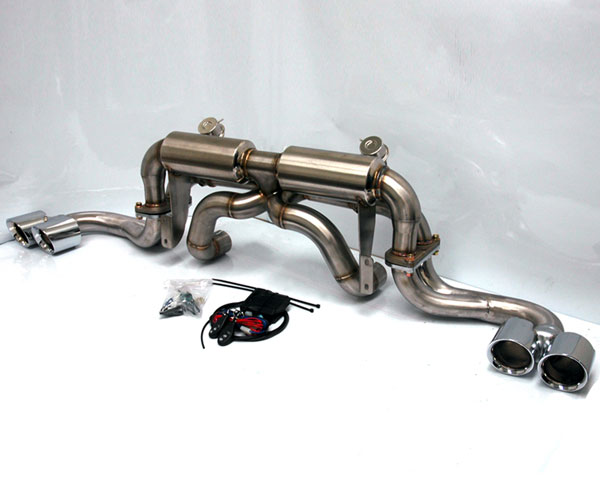 Agency Power AP-F360-170 |  Electronic Valve Controlled Exhaust Ferrari 360 Modena; Brushed; 1999-2005