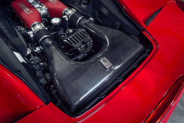 Agency Power AP-F458-110 | Carbon Fiber Air Box Ferrari 458 Italia; 2010-2013