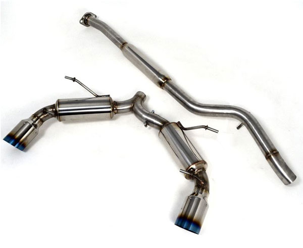 Agency Power AP-FRS-170T |  Catback Exhaust Scion FR-S Titanium Burnt Tips; 2013-2016