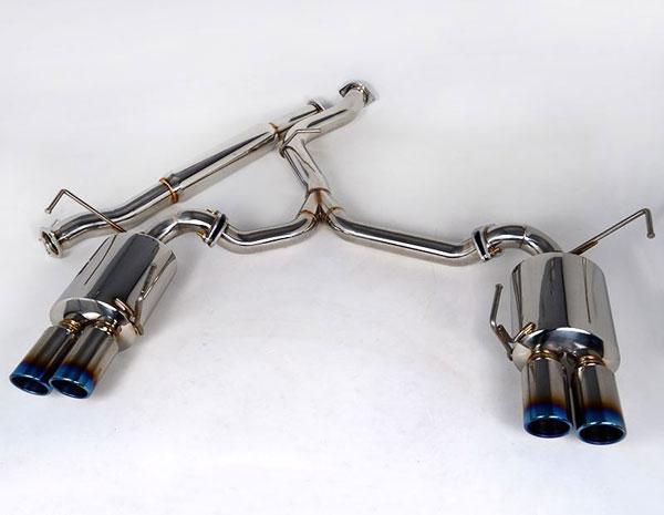 Agency Power AP-GRBS-170T    Catback Exhaust System Titanium Quad Tips Subaru WRX STi Sedan; 2011-2013