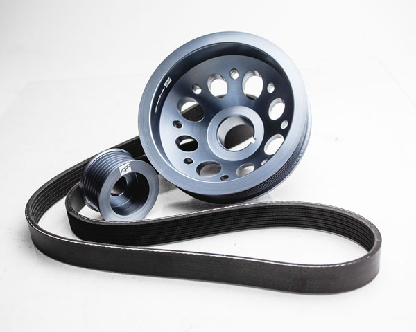 Agency Power (AP-Z34-130)  Lightweight Pulley Kit Infiniti G37 3.7L V6; 2009-2013
