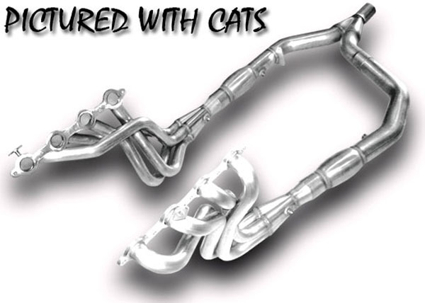 American Racing Headers ARHFBODY78C |  ARH LongTube 1-7/8 304-SS Catted Ypipe Camaro V8; 1998-2002