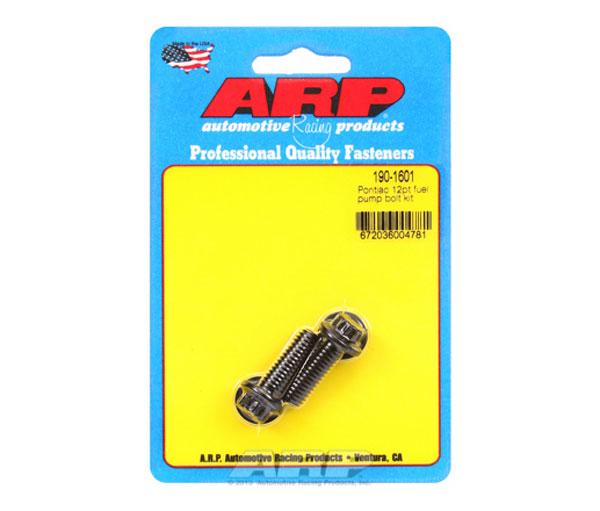 ARP 190-1601 | Pontiac 12pt Fuel Pump Bolt Kit