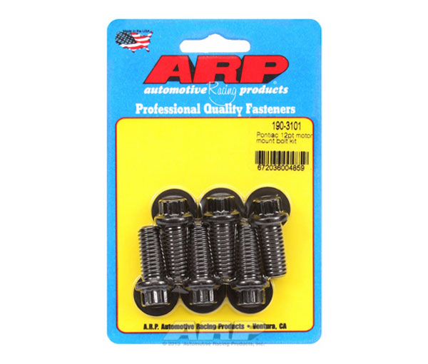ARP 190-3101 | Pontiac 12pt Motor Mount Bolt Kit