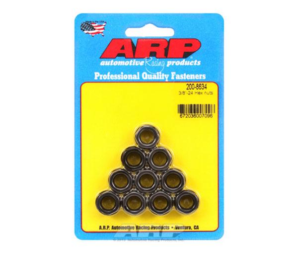 ARP 200-8634 | 3/8-24 Hex Nut Kit