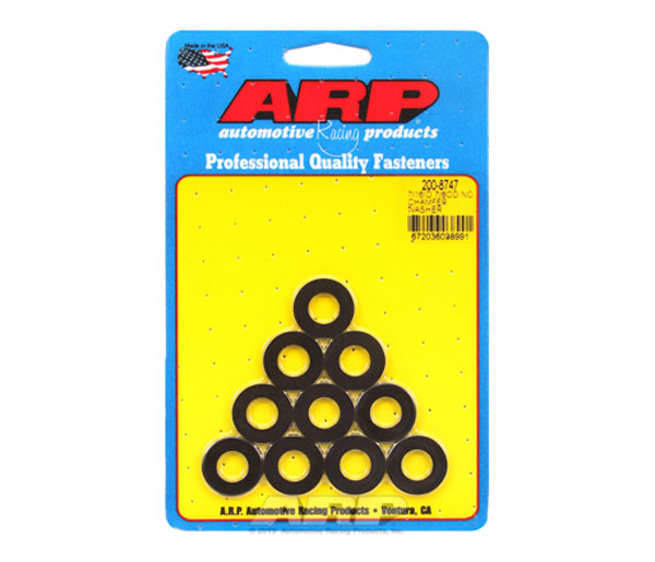 Arp 200-8747 7//16 ID 7//8 OD black washers