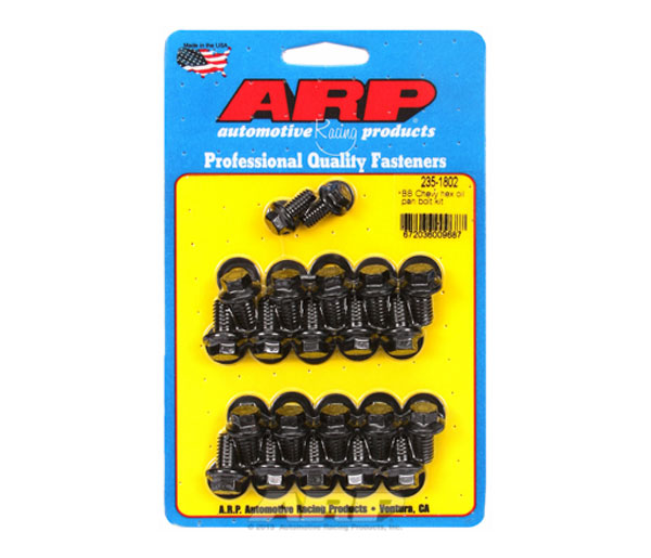 ARP 235-1802 | BB Chevy Hex Oil Pan Bolt Kit