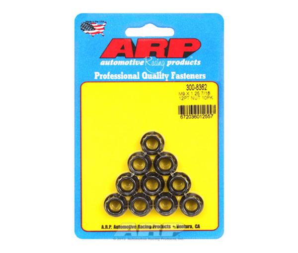 ARP 300-8362 | M9 x 1.25 12pt Nut Kit (10 pack)
