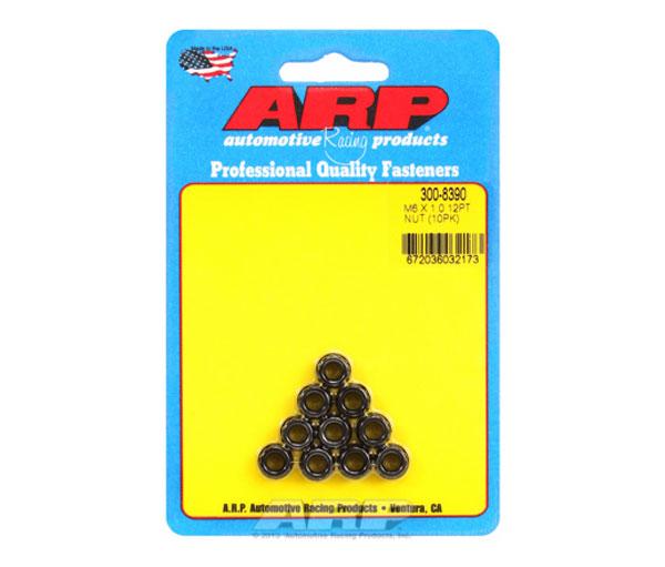 ARP 300-8390   M6 x 1.00 12pt Nut Kit (10 pack)