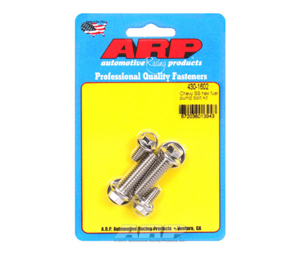 ARP 430-1602 | Chevy SS Hex Fuel Pump Bolt Kit