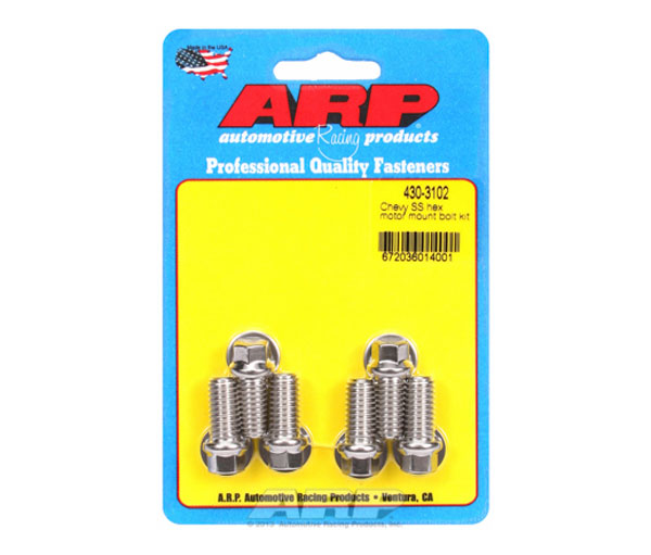 ARP 430-3102 | Chevy SS Hex Motor Mount Bolt Kit