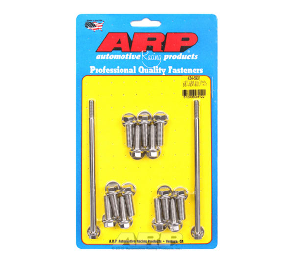 ARP 434-6901 | LS1 LS2 SS Hex Oil Pan Bolt Kit