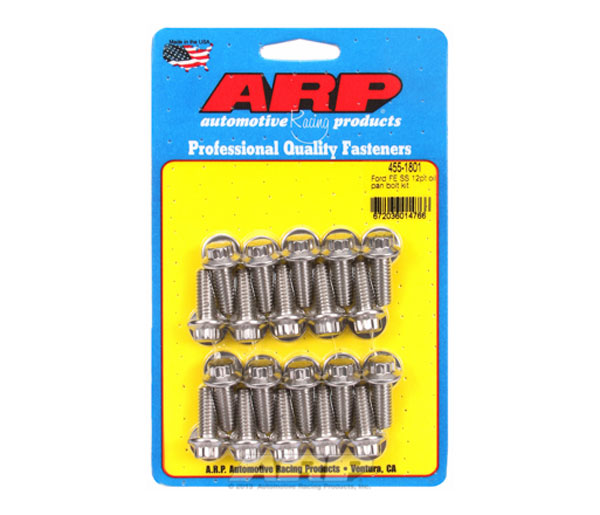 ARP 455-1801 | Ford FE SS 12pt Oil Pan Bolt Kit
