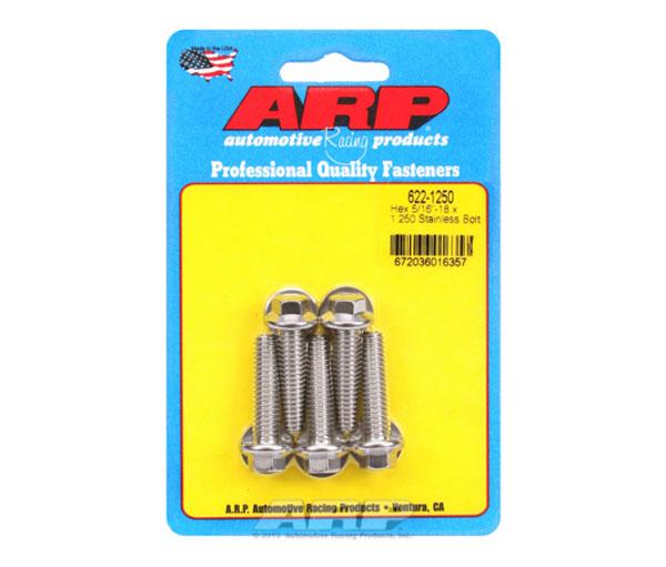 ARP 622-1250 | 5/16-18 x 1.250 Hex SS Bolts
