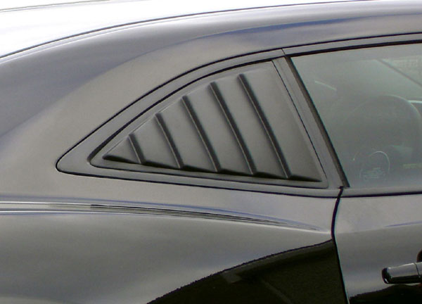 Astra Hammond 10567: Astra-Hammond 2010-11 Camaro ABS Side Window Louver - Paintable
