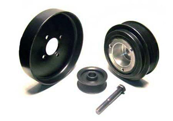 ASP 522328 |  25% Harmonic Dampner, 26% Water Pump, 8% Alternator for Mustang GT V8; 2001-2004