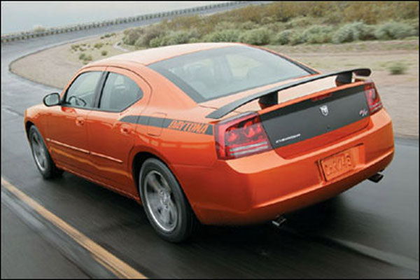 LMPerformance ATLDCSP: Dodge Charger R/T SRT-8 Daytona Style Spoiler 2006-08 - Painted
