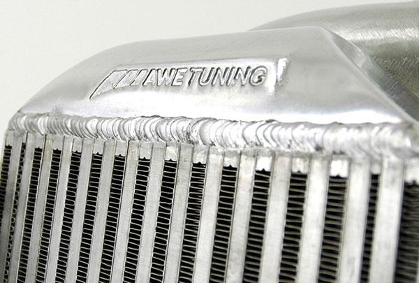 AWE Tuning 4510-11040 | Audi Allroad Base 2.7L Turbo Performance Intercooler Kit - With Carbon Fiber Shrouds; 2001-2004