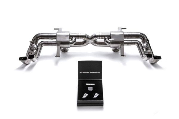 Armytrix AUR13-C | ARMYTRIX Titanium Valvetronic Exhaust System Audi R8 V10 5.2L; 2016-2020