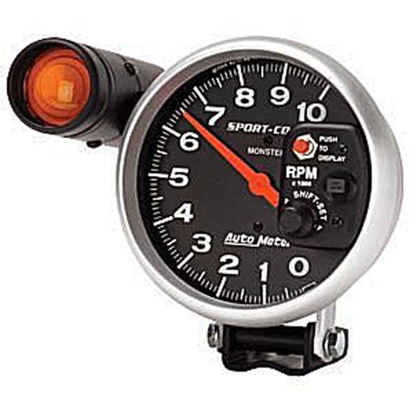Auto Meter 3904 |  Sport-Comp 10,000 RPM TACH; 1950-2011