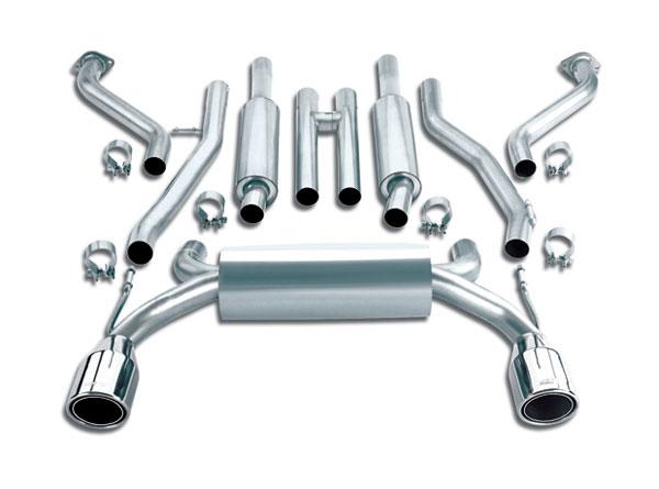 Borla Exhaust 1014012 | Borla Nissan 350Z Cat-Back Exhaust System, V6 3.5; 2003-2009
