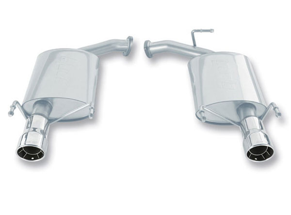 Borla Exhaust 11758 | BORLA Toyota Camry 3.5L Stainless Steel Rear Section; 2007-2009