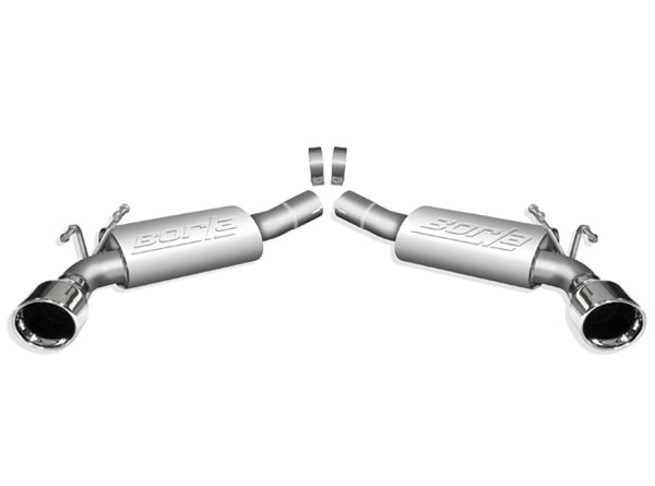 Borla 11774:  Camaro 2010-13 V8 Exhaust System - Rear Section - Touring