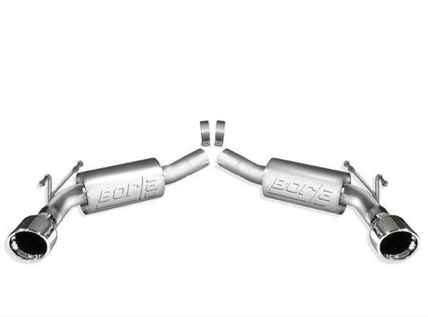 Borla Exhaust 11775 | Borla Camaro V8 Exhaust System - Rear Section - S-Type; 2010-2013