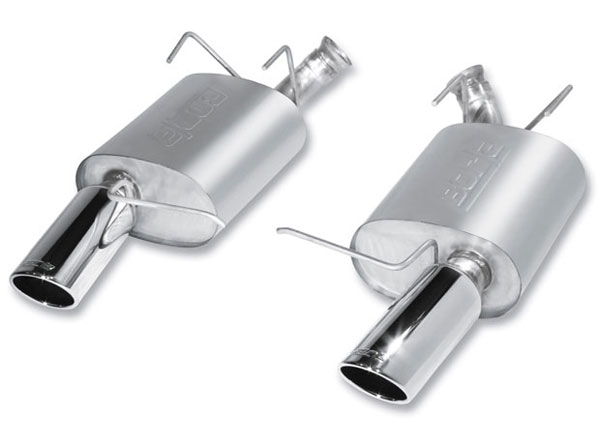 Borla Exhaust 11798 | Borla Ford MUSTANG Shelby GT 500 5.4L Rear Section S-Type; 2011-2012