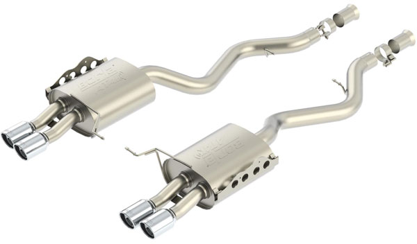 Borla Exhaust 11802 | Borla BMW M3 Coupe 2DR Rear Section Exhaust Aggressive - ATAK; 2008-2013