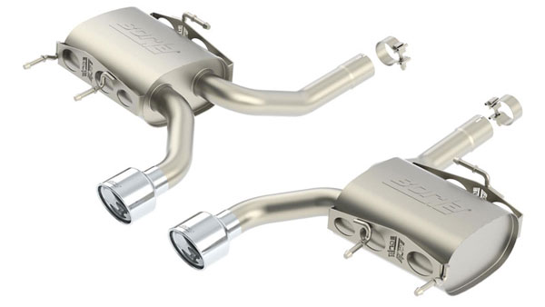 Borla 11823 |  CTS-V Coupe 2011-14 Stainless Steel Rear Section - S-Type Sport System