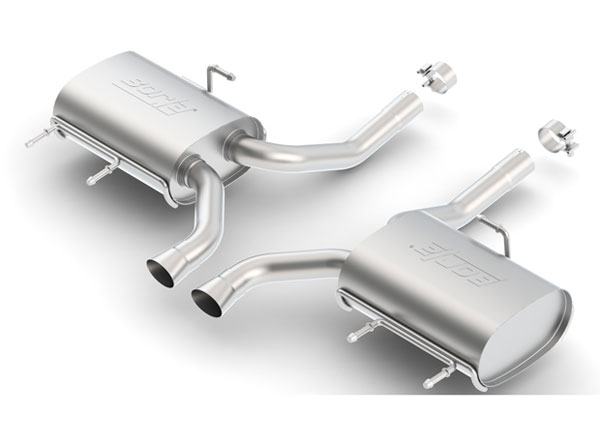 Borla Exhaust 11824 | Borla CTS Coupe V6 2WD/4WD Rear Section Exhaust Touring; 2011-2014