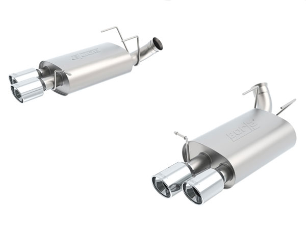 Borla Exhaust 11830 | Borla Shelby Mustang GT500 Rear Section Exhaust S-Type; 2013-2014