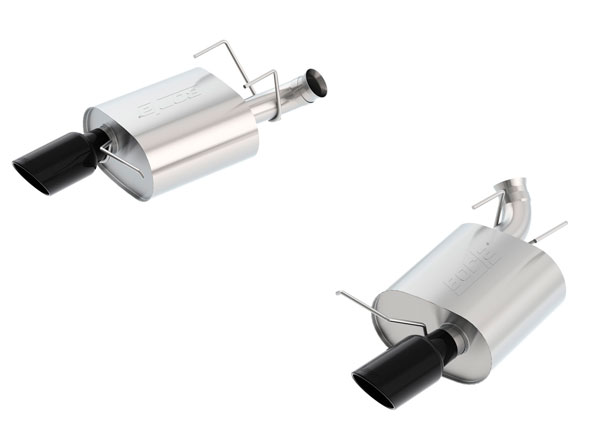 Borla Exhaust 11836BC | Borla Ford Mustang Touring Axle-Back Exhaust System, Boss 302, GT V8 5.0; 2013-2014