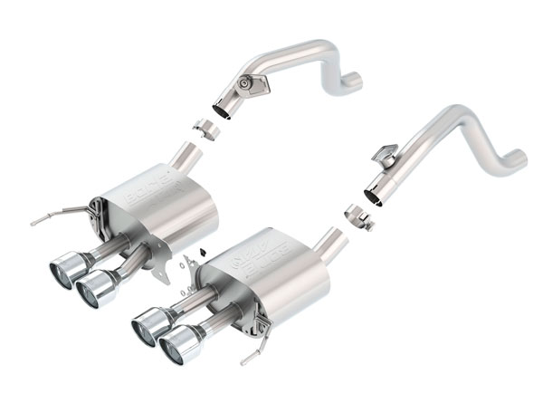 Borla Exhaust 11881 | Borla Chevrolet Corvette ATAK Axle-Back Section Exhaust, Stingray, Z06 V8 6.2; 2014-2016