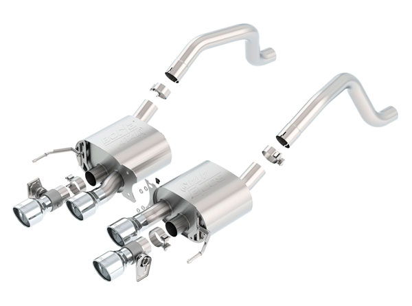 Borla Exhaust 11905 | Borla Chevrolet Corvette ATAK Axle-Back Section Exhaust, Z06 V8 6.2; 2015-2019