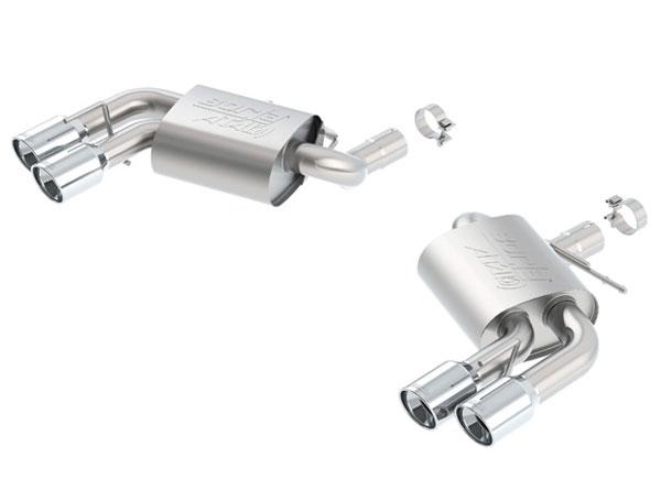 Borla Exhaust 11921 | Borla Camaro SS ATAK Rear Section Exhaust; 2016-2020