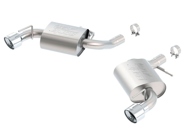 Borla Exhaust 11923 | Borla Chevrolet Camaro ATAK Axle-Back Section Exhaust, SS V8 6.2; 2016-2017