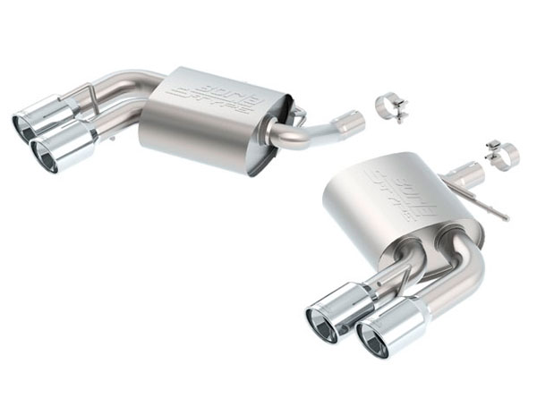 Borla Exhaust 11926 | Borla Chevrolet Camaro S-Type Axle-Back Exhaust System, LT V6 3.6; 2016-2020