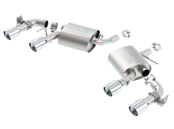 Borla (11931)  Chevrolet Camaro ATAK Axle-Back Section Exhaust, 2016 - 2017; LT V6 3.6