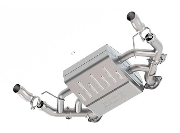 Borla Exhaust 11932 | Borla Aston Martin DB9 S-Type Axle-Back Exhaust System, V12 6.0; 2005-2015