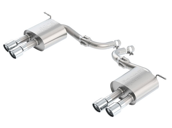 Borla (11942)  Ford Fusion Sport 2017 Axle-Back Exhaust S-Type