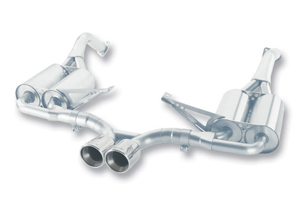 Borla Exhaust 12653 | Borla Porsche 987 BOXSTER/BOXSTER S, CAYMAN/CAYMAN S 2.7L3.4L 6CYL RWD AT/MT 2DR (Offroad only) Cat-Back System; 2005-2008