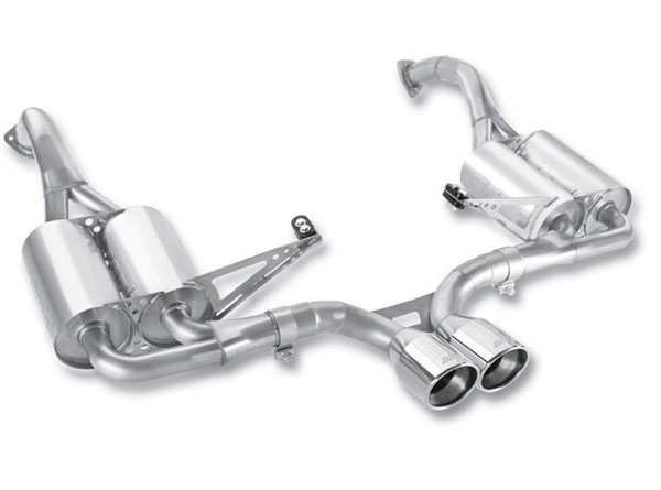 Borla Exhaust 12659 | Borla Porsche 987 BOXSTER/BOXSTER S, CAYMAN/CAYMAN S 2.9L/3.4L 6CYL RWD AT/MT 2DR (offroad only) Cat-Back System; 2009-2012