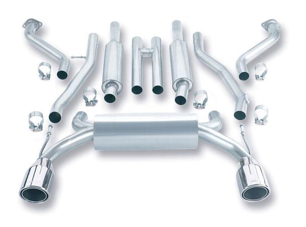 Borla Exhaust 140045 | Borla NISSAN 350Z 3.5L V6 True Duals; 2003-2008