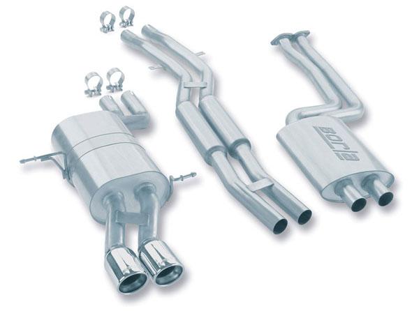 Borla Exhaust 140084 | Borla BMW 325 / 330 I / CI; 2001-2005
