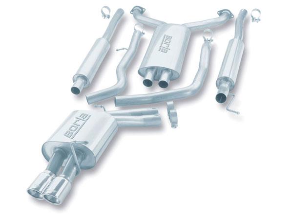 Borla Exhaust 140093 | Borla INFINITI G35 3.5L V6; 2003-2005