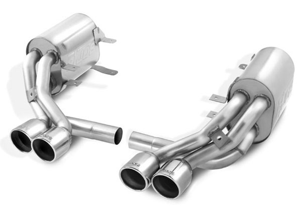 Borla 140272:  Porsche 997S 911S 3.8L 6CYL AT/MT RWD 2 DR 2005-08 Cat-Back System